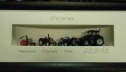 4 Tractors - 3D Frame