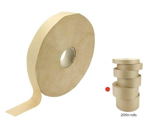 Brown Tape Gummed 72mm
