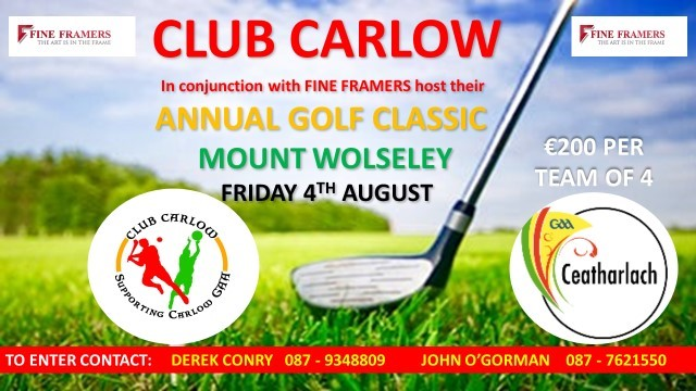 Club Carlow Golf Classic