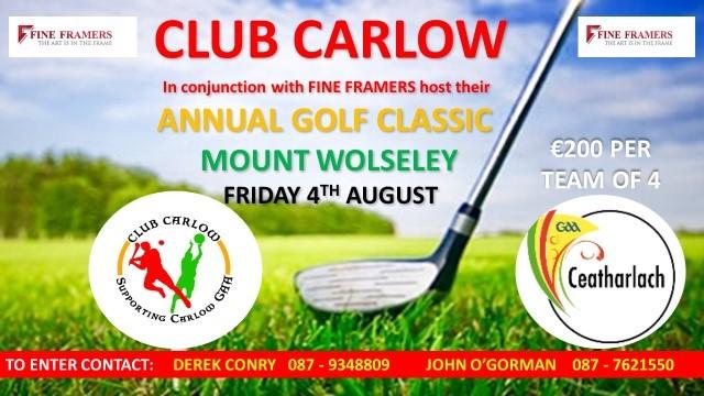 Club Carlow Golf Classic