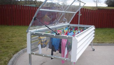 Drying Clothes Rain