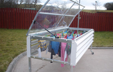 Drying Clothes Rain