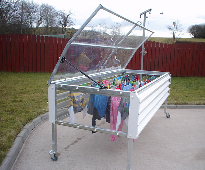 Drying Clothes In The Rain Fine Framers
