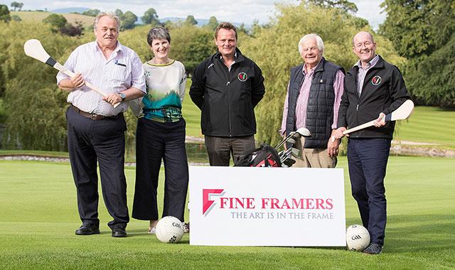 Fine Framers sponsors Carlow GAA Golf Classic