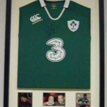 Ireland Jersey with photos and text gold plate
