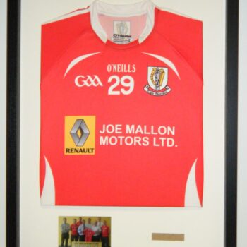 Jersey with photo and text