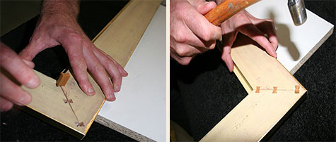 Large Picture Framing Process