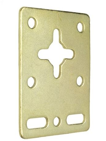 Lion Multiplate Picture Plate Brass Plated