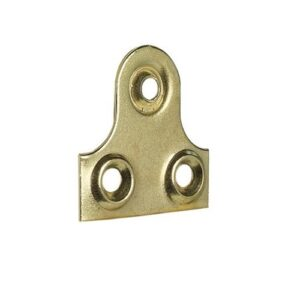 Picture Plates Plain Brass Plated 25mm 1496.jpg