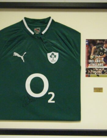 Rugby Jersey with programme