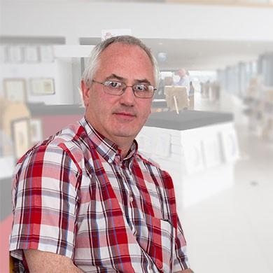 Fine Framers owner, Tom McDermott