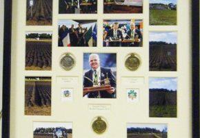 champion ploughman medal framing