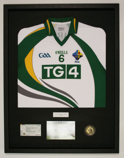 Jersey Framing | Making your jersey last a lifetime | Fine Framers