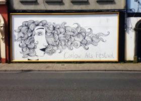 Carlow Arts Festival wall art