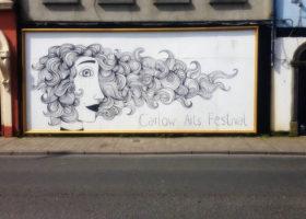 Carlow Arts Festival wall art