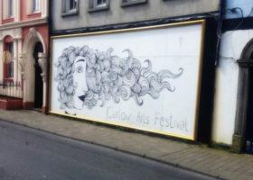 Carlow Arts Festival wall art, framed
