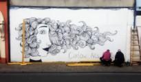 Carlow Arts Festival wall art. framing