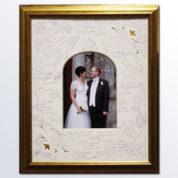 fine framers wedding wishes