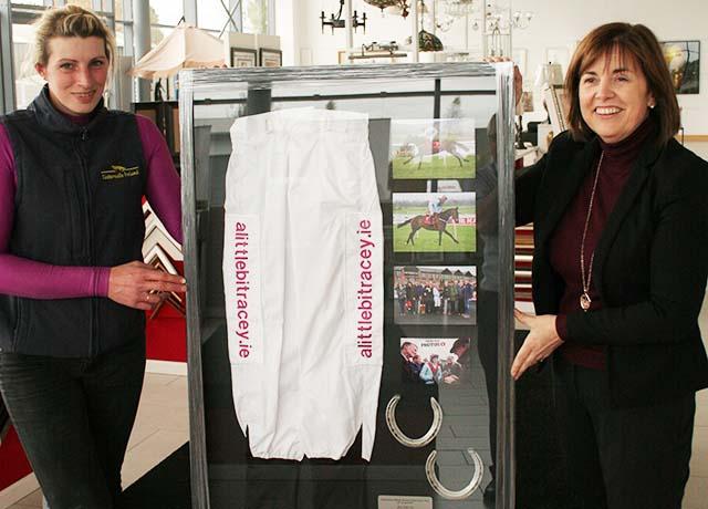 framed jockey racing silks