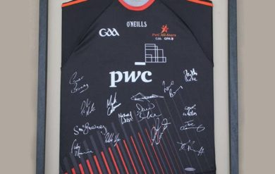 gaa jersey framing
