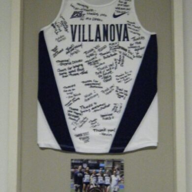 jersey with relay baton