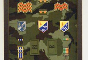 military medal framing