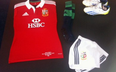 Sean O Brien, Lions Tour Gear