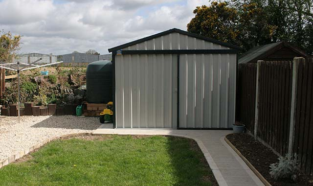 Steeltech Shed Installations Wexford Steeltech Sheds Wexford