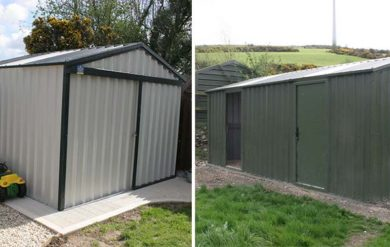steeltech shed installations wexford