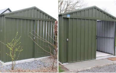 steeltech sheds installations carlow