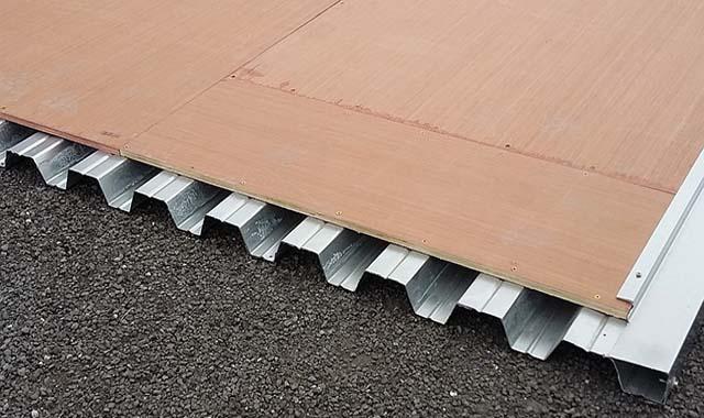 steeltech steel floors